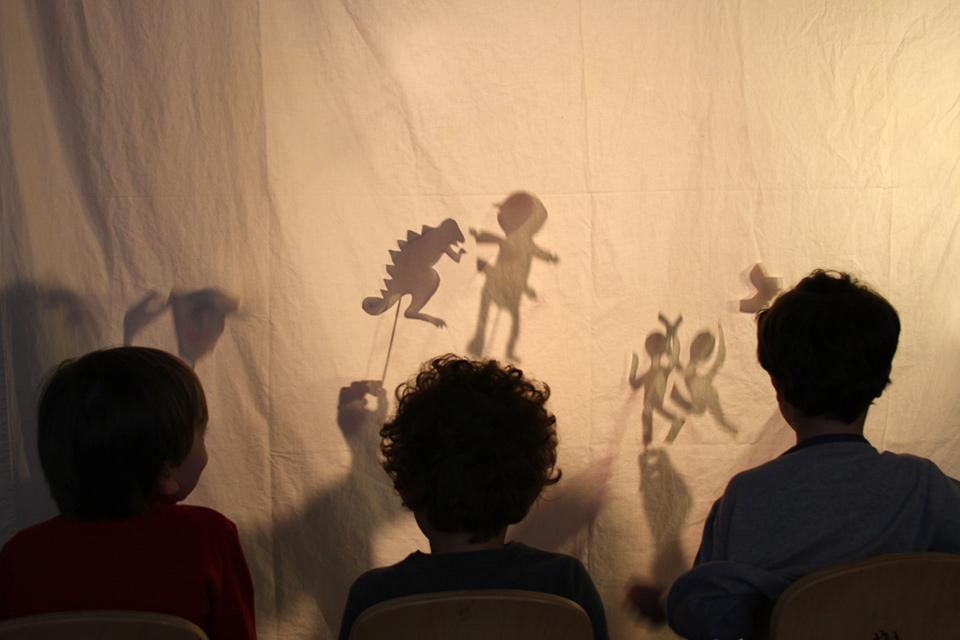 Film a Shadow Puppet Movie for Camp Play@Home Movie Week